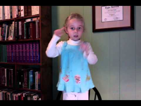 Geographical Fugue by Ernst Toch performed by a five year old