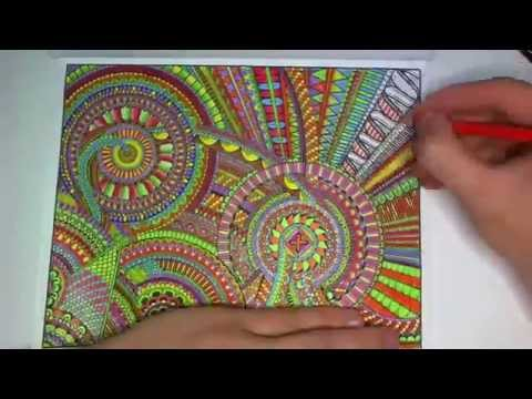 """Coloring """"Between the Lines"""" #1"""