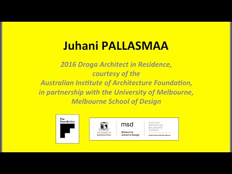 Juhani Pallasmaa – In Conversation
