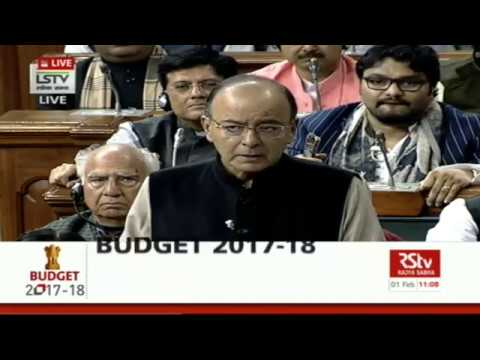 FULL SPEECH: Finance Minister Arun Jaitley's Budget Speech | Union Budget 2017-18