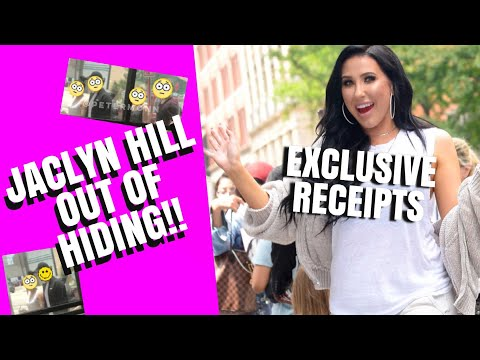 JACLYN HILL SPOTTED! COMES OUT OF HIDING | RECEIPTS! thumbnail