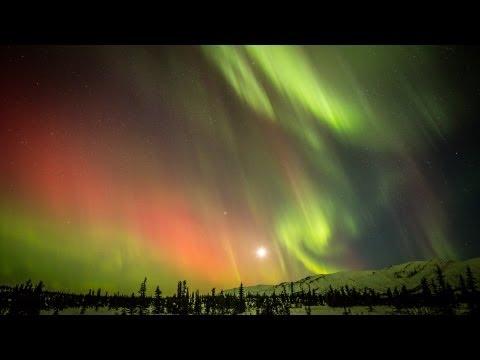 HD Northern Lights timelapse, Eureka, Alaska March 2013