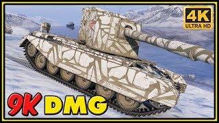 FV4005 Stage II - 9K Dmg - World of Tanks Gameplay - 4K Video