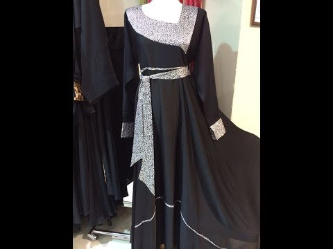 Unique Stylish Abaya Dubai Design 2016- 2017