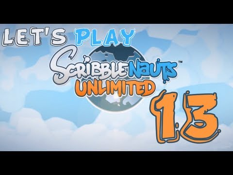 Let's Play Scribblenauts Unlimited [PC] [HD] [Walkthrough/Gameplay] Episode 13: Groovy Grotto |