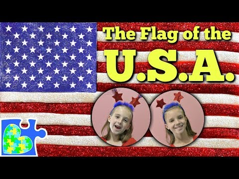 Play-Doh FLAG Of The USA! || The American Flag II Flags Of The World || US History