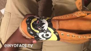Custom Timberland Boots The Legendary Pokemon Mixtrate Pt 2