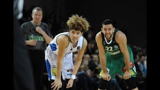 LaMelo and LiAngelo Ball Full Highlights 2018.02.04 vs Zalgiris Kaunas