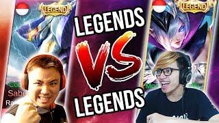 MIYA LEGENDS VS SABER LEGENDS - MOBILE LEGENDS INDONESIA