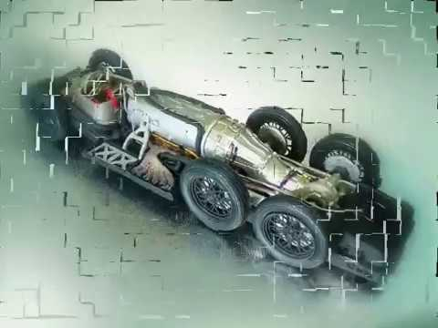 Land Speed Record >> Mercedes Benz T 80 LSR - YouTube