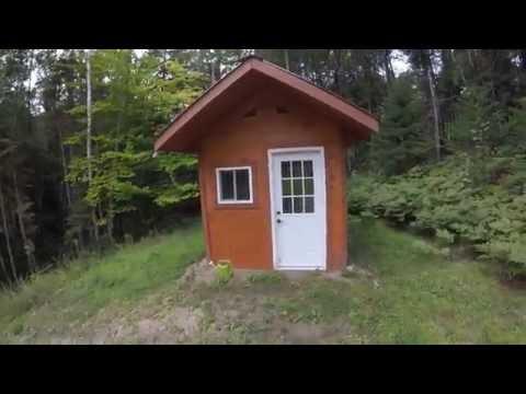 Off Grid Wood Fired Sauna