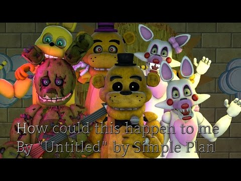 (SFM-FNAF)How could this happened to me|  by
