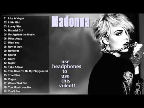 New Album Of Madonna - Best Songs Of Singer Madonna Part 01