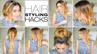 7 Genius Hair Styling Hacks Every Girl Needs To Know!