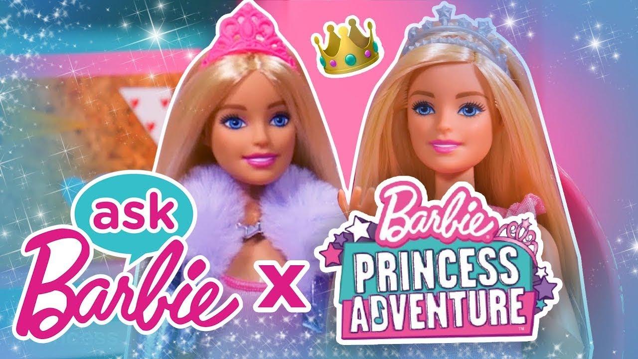 Chiedi a Barbie e alla principessa Amelia della loro avventura da principessa! | @Barbie Italiano