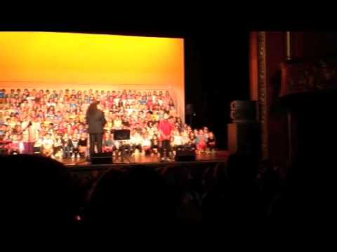 JT sings at the Wellington State Opera House 29May13