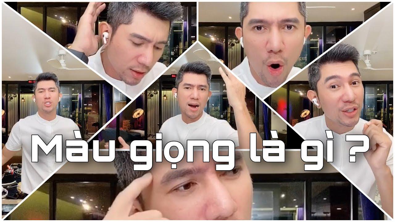 """Học hát """"Đừng giết yêu thương"""" hát không mic, màu giọng là gì ? Thầy Lương Bằng Quang"""