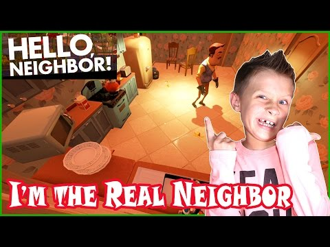 I'm The Real Neighbor Of Them All / Hello Neighbor