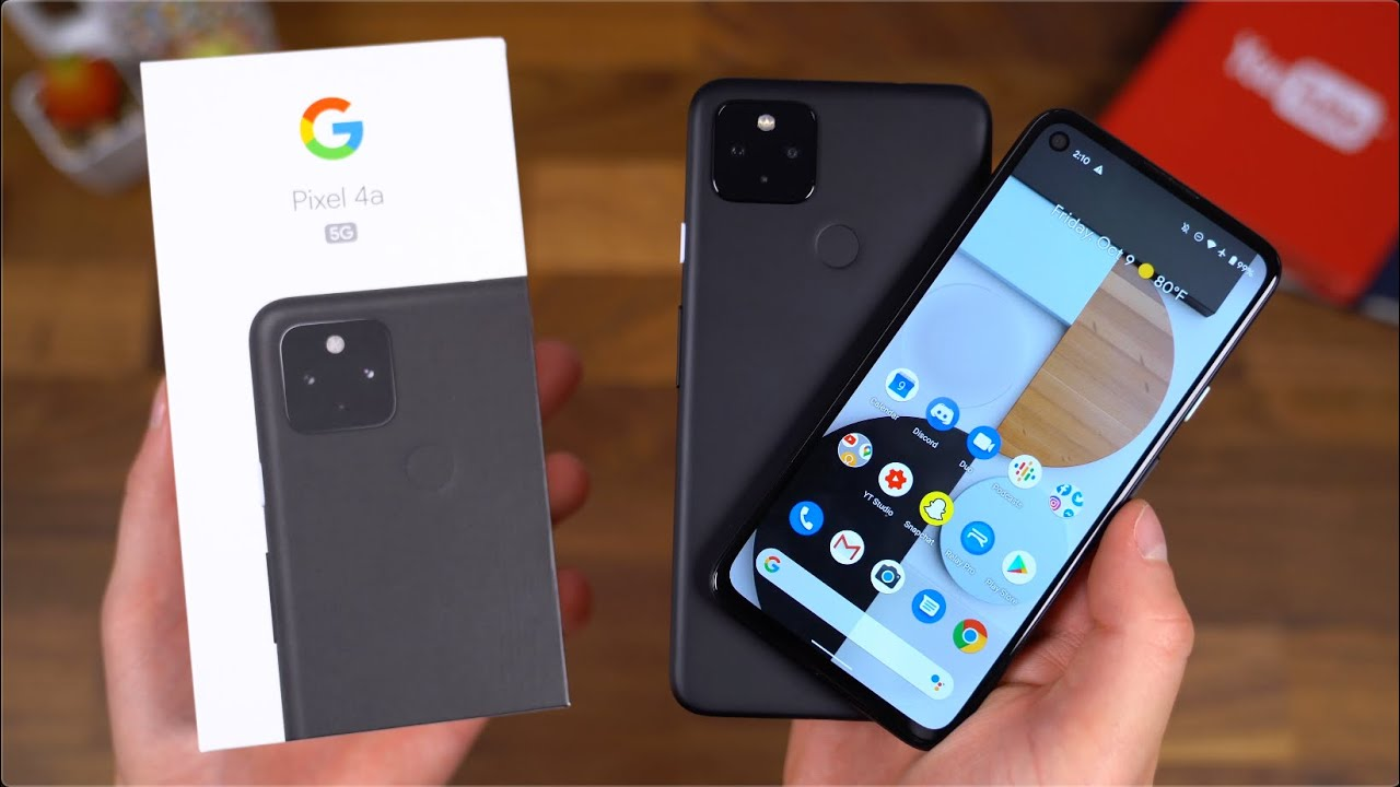 Snatch the Pixel 4a 5G at its least cost ever!
