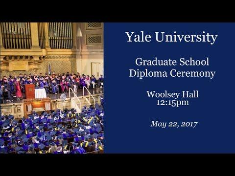 Graduate School Diploma Ceremony