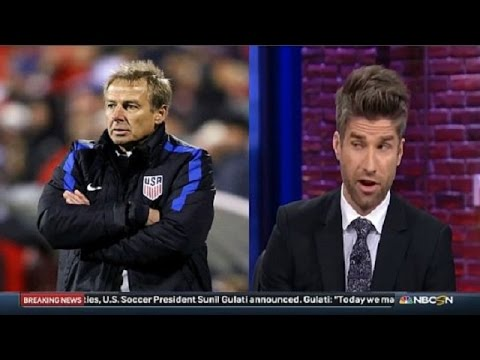 Pundits on Jurgen Klinsmann got fired as USA national team manager