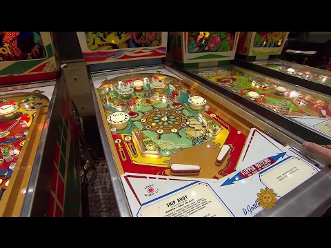Pinball in back and running full tilt