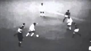 1961 Pelé vs Benfica (Two Rare Goals)