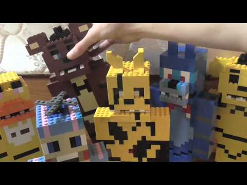 Lego five nights at freddy s special video youtube