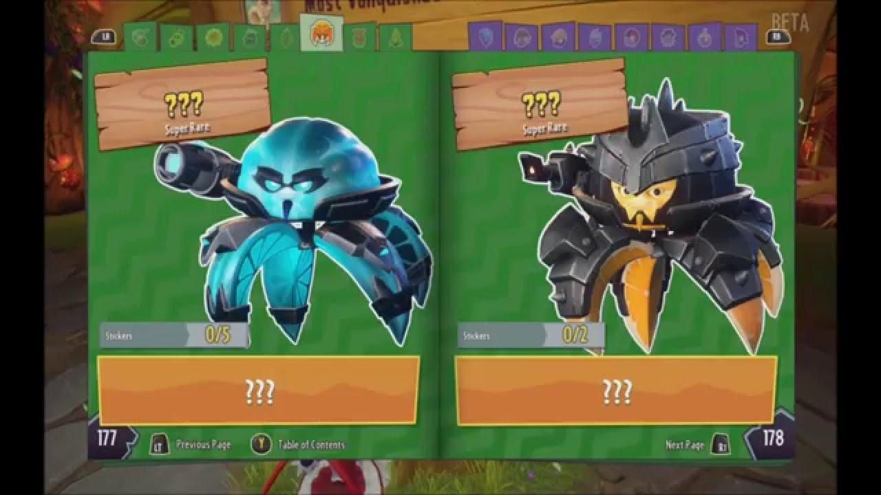 Spoilers Plants Vs Zombies Garden Warfare 2 Hidden Beta Characters You