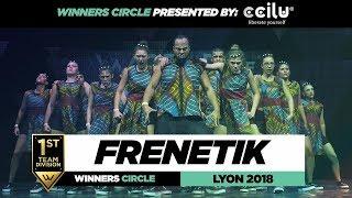 Frenetik Crew I 1st Place Team Division I Winners Circle I World of Dance Lyon 2018 I #WODFR18