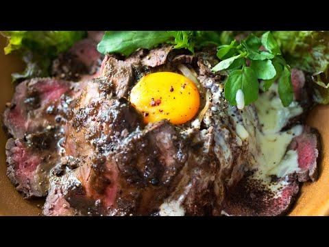 カカオ塩のローストビーフ丼の作り方|カカオと肉の料理レシピ