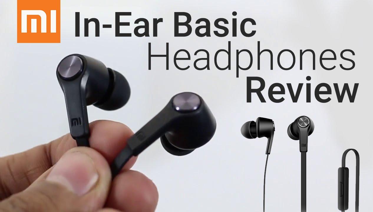 Xiaomi Mi In Ear Basic Headphones Review Youtube