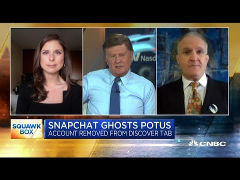 What may be next for Snapchat after its decision to stop promoting Trump's account