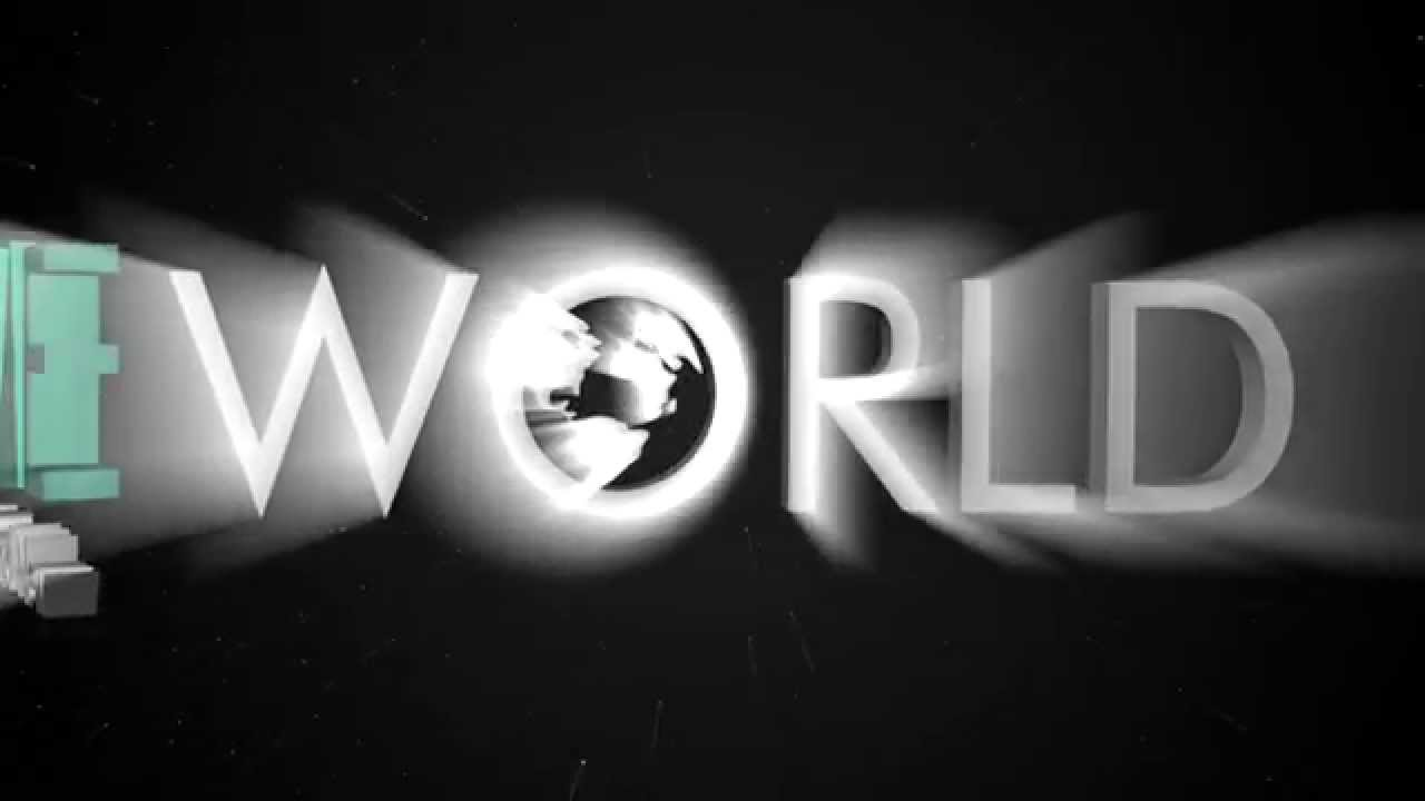 "Animated typography, "" Brand New World """
