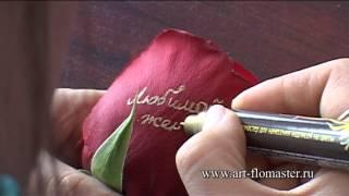 Говорящие цветы за 15 секунд, вопросы на rodsqq@gmail.com(Здравствуйте, друзья. Вы можете взять стержни поштучно для пробы. Имеются стержни золотого и серебристого..., 2013-12-09T04:24:29.000Z)