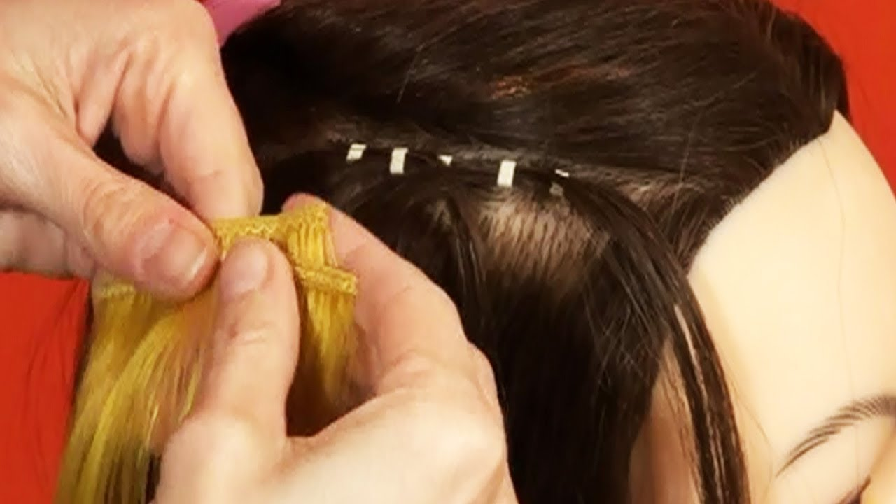 Linkies Track Weave Hair Extension Tutorial Doctoredlocks