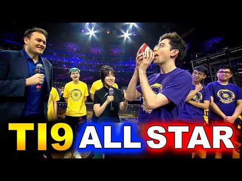 TI9 ALL STAR MATCH - ARDM MODE! - THE INTERNATIONAL 2019 DOTA 2