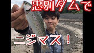 忠別ダムでニジマスを狙ってみた!2017.08.29