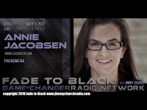 Ep. 650 FADE to BLACK Jimmy Church w/ Annie Jacobsen : CIA and ESP : LIVE