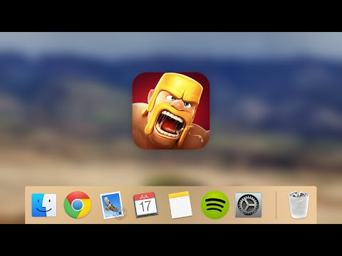 CLASH OF CLANS SUR MAC - JM ET SON MAC
