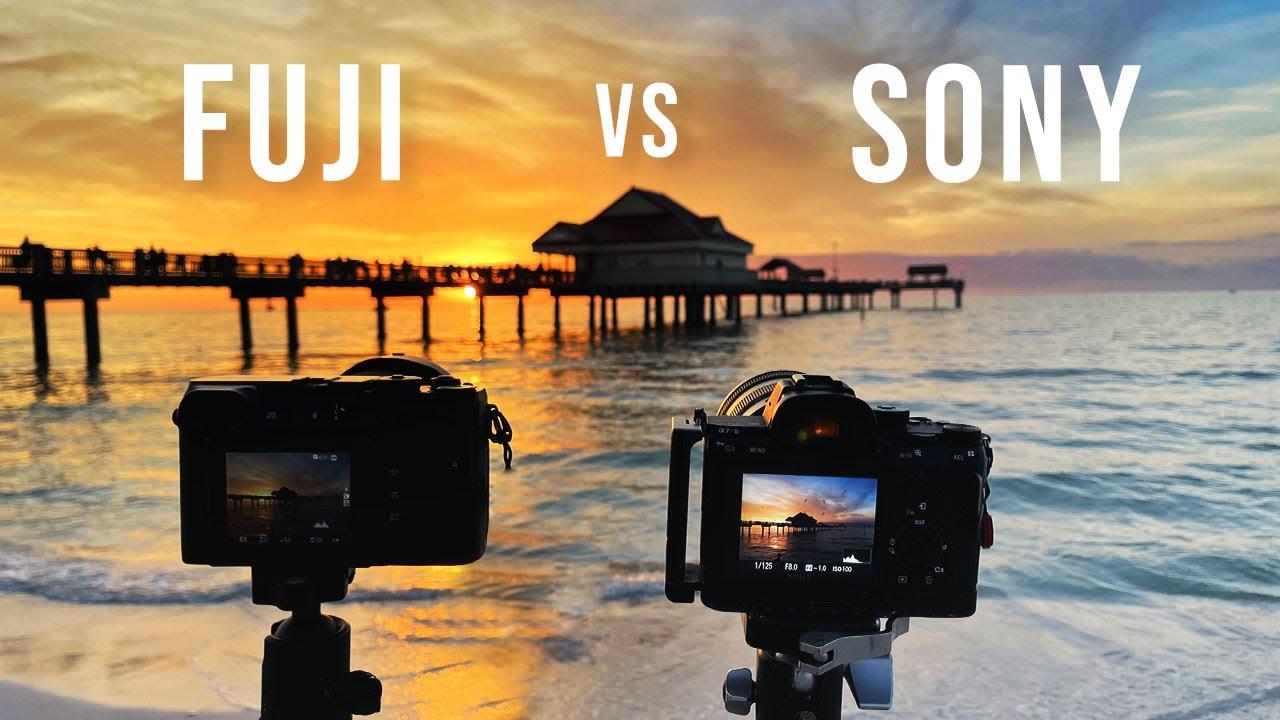 Download Fuji GFX 50R MEDIUM FORMAT vs SONY A7r 3 Full Frame Artistic Review