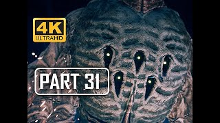 BOSS GHOUL - FINAL FANTASY 7 REMAKE Walkthrough Part 31 (4K PS4 Pro Gameplay)