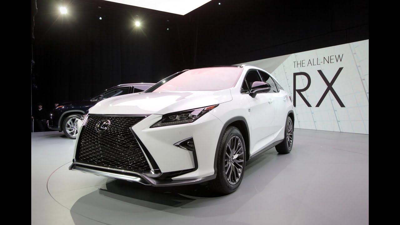 2016 Lexus RX First Look 2015 New York Auto Show