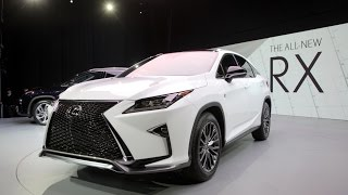 2016 Lexus RX First Look - 2015 New York Auto Show