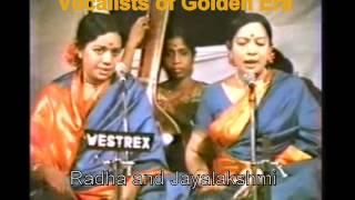 Endaro Mahanubhavulu a Tribute to Carnatic Musicians