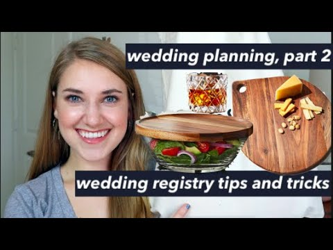 WEDDING REGISTRY TIPS AND TRICK   VLOG STYLE Wedding Planning Part 2   This or That