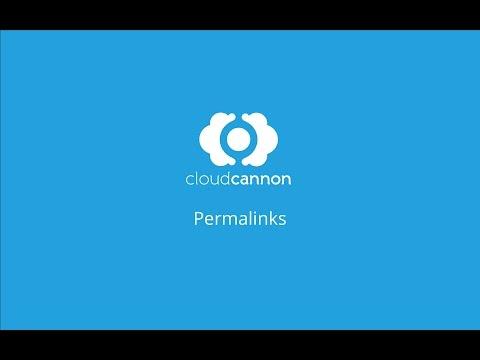 Permalinks - CloudCannon Casts