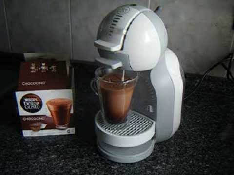 preparaci n nescafe dolce gusto mini me de chococino youtube. Black Bedroom Furniture Sets. Home Design Ideas