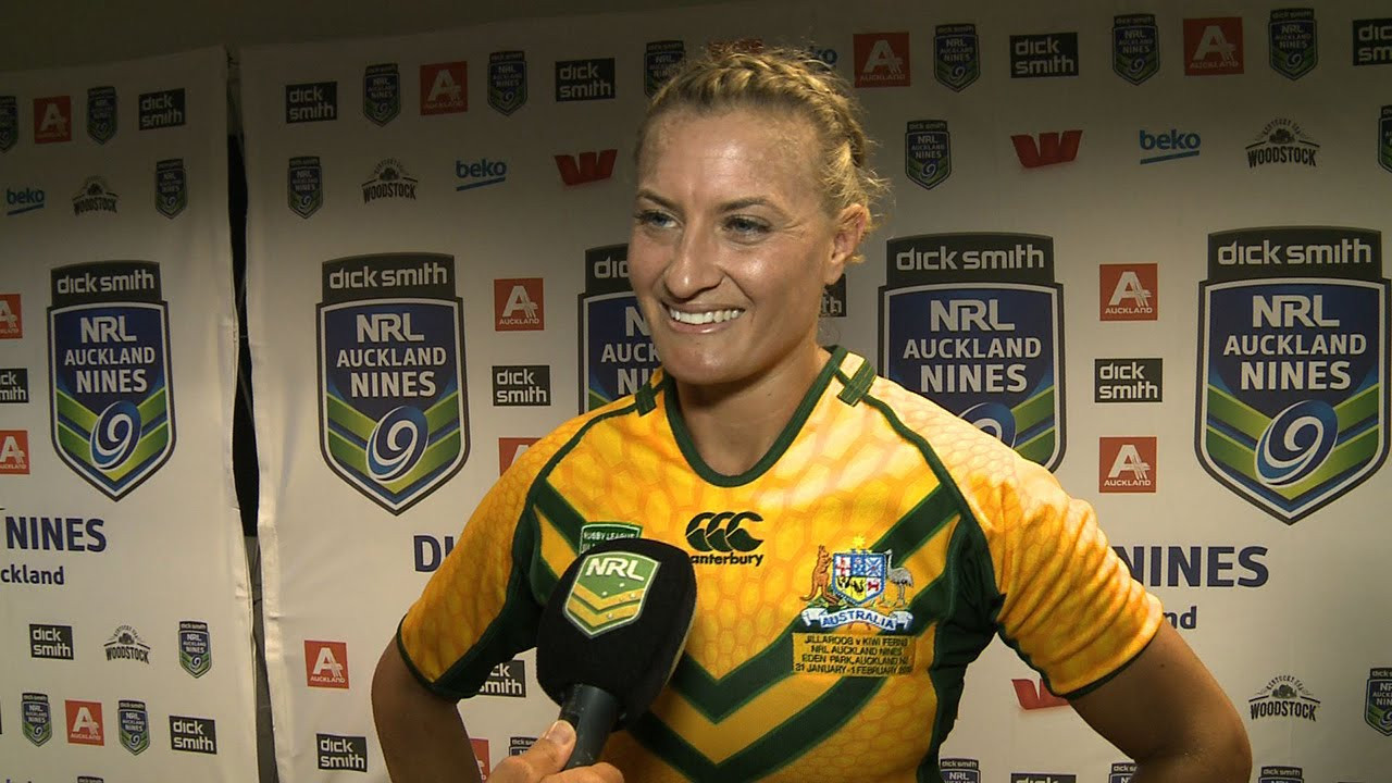 Day 2 - Womens Game - Aus v NZ post match: Sims - YouTube