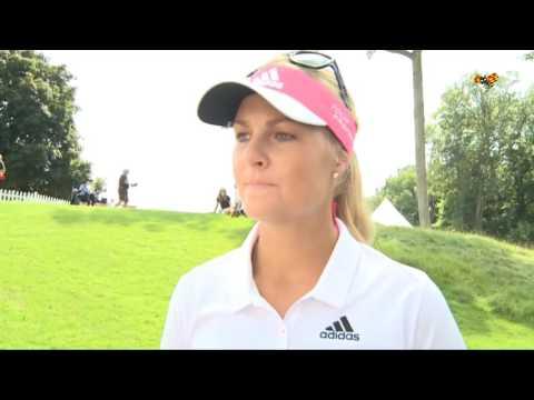 """Golfstjärnan Anna Nordqvist: """"Har förföljts av stalkers"""""""